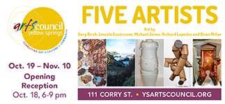 Five Artists: Art by Gary Birch, Lincoln Castricone, Michael Jones, Richard Lapedes and Brian Millar